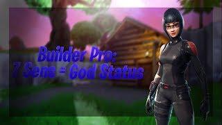 Builder Pro W/ 7 Sensitivity Makes Me a God At Fortnite Battle Royale!   Highlight #3   InverseL