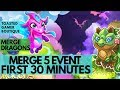 First 30 Minutes Merge Dragons Merge 5 Event • Tips & Tricks ☆☆☆