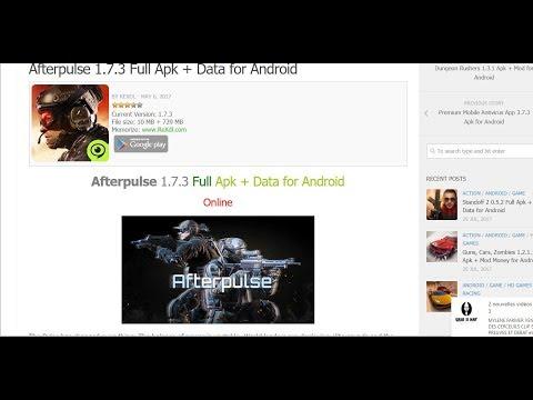 Afterpulse Apk Data