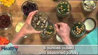 Balsamic Rotini Salad In A Jar - Healthy Bites