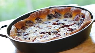 Beth's Cherry Clafoutis Recipe | ENTERTAINING WITH BETH
