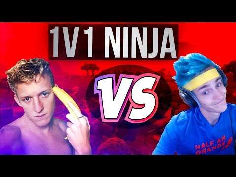 NINJA IS IN MY GAME?! Tfue 1v1 - 20 Kills Solo Win Full Gameplay (Fortnite Battle Royale)
