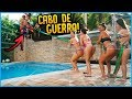 5 MENINOS VS 5 MENINAS: CABO DE GUERRA NA PISCINA!! [ REZENDE EVIL ]