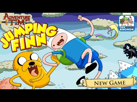 Adventure Time: Jumping Finn – Get To Frozen Land Any Way