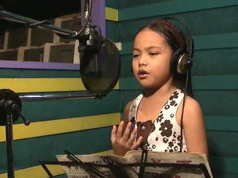 Eurika's music video of KAHIT AKO'Y BATA PA