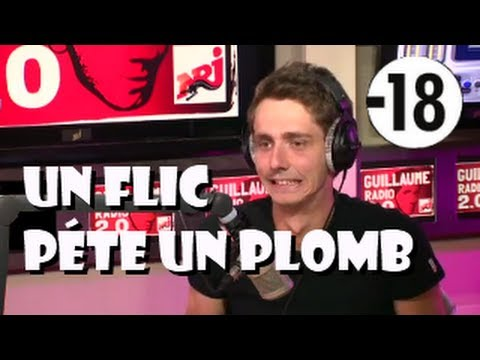 Clash avec la police en direct sur NRJ Guillaume Radio 2.0