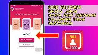 Aplikasinya selebgram 2019🔥Bisa tambah 6000 Followers Per Hari ?