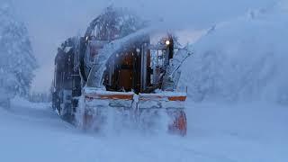 Schneefräse der  Harzer Schmalspurbahn (Train Snowblower)