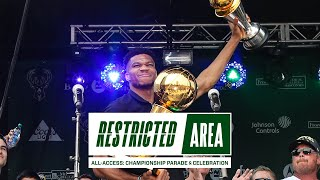 All-Access: Bucks NBA Championship Parade \u0026 Celebration | 500,000 Fans Party In Downtown Milwaukee