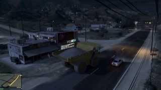 dump truck race gta v