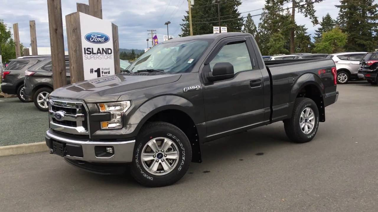 2016 ford f 150 xlt fx4 reg cab 6 1 2 foot box review island ford youtube