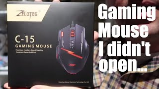 the Zelotes C15 gaming mouse helped me and 1upkeyboards with the make-a-wish foundation