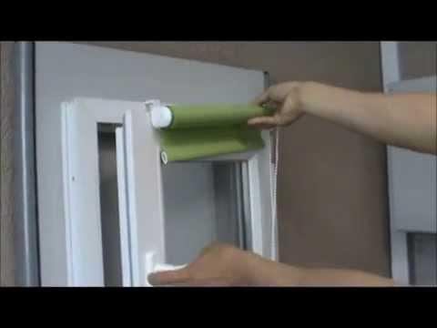 0 - Як кріпляться римські штори?