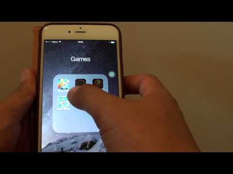 iPhone 6: How to Remove Folder From Home Screen