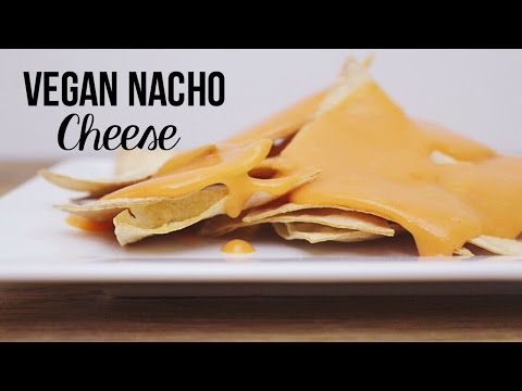Vegan Nacho Cheese and Oil Free Tortilla Chips // MoreSaltPlease