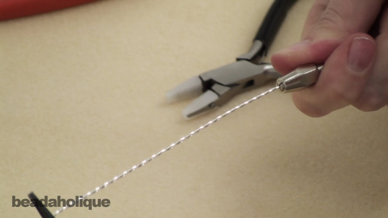 How to Use a Pin Vise to Twist Wire - YouTube