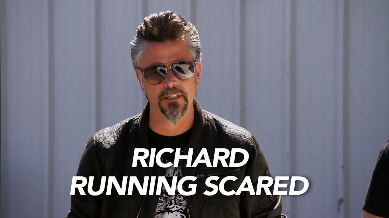 Richard Running Scared
