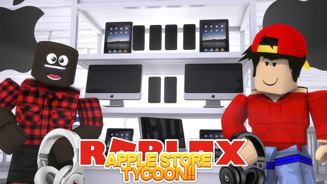 Roblox Adventure Dr Dre Works In My Apple Store Youtube