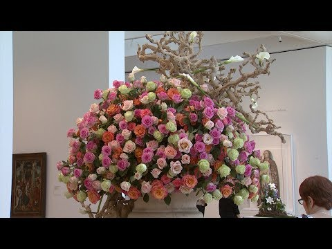 Art in Bloom at the NC Museum of Art