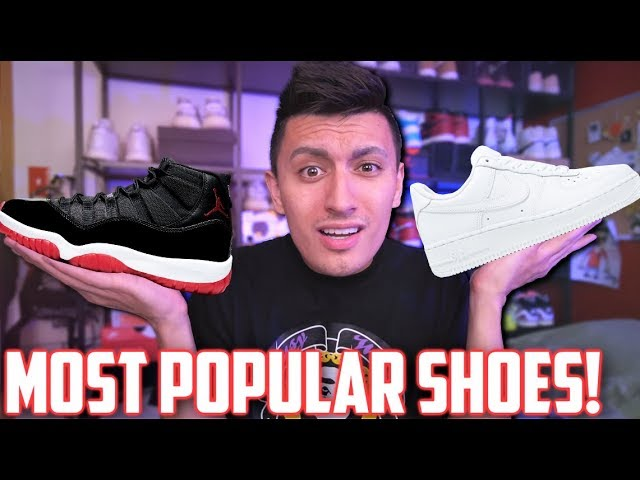 TOP 10 MOST POPULAR Sneakers RIGHT NOW