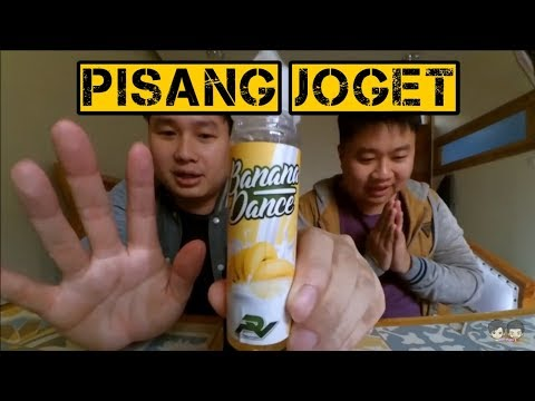 Review Liquid Lokal Pisang Vanilla Banana Dance Pisang Joget