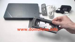 комплектация беспроводного видеодомофона eplutus ep 2232