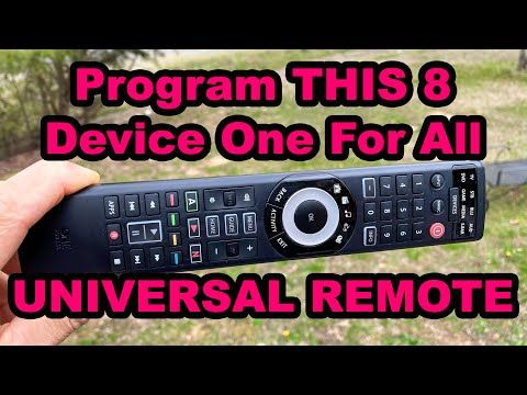 Programming This One For All Universal Remote Control To ANY Device!