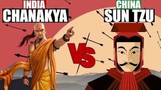 CHANAKYA NITI 7 BEST LESSONS IN HINDI   CHANAKYA VS SUN TZU   ART OF WAR   AMAZING FACTS