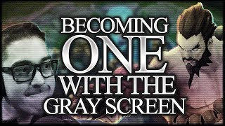 BECOMING ONE WITH THE GREY SCREEN | UDYR JUNGLE - Trick2G