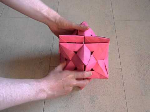 Flexible Stellated Rhombic Dodecahedron