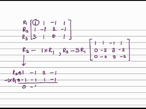 Rank of Matrix by Normal form of matrix A - YouTube