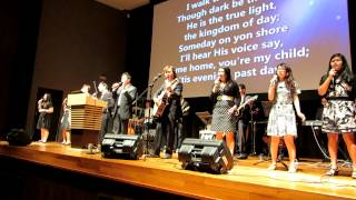 Singing in Singapore church