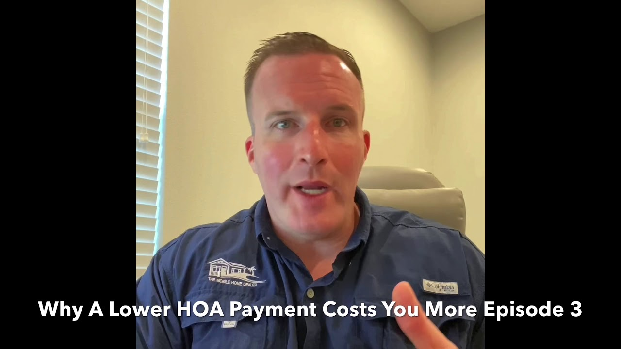Why A Lower HOA Equals More Money Episode 3