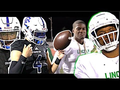 🔥🔥 90+ COMBINED POINTS !! Culver City (LA) v Lincoln (San Diego) D3-AA SoCal Regional Bowl Game