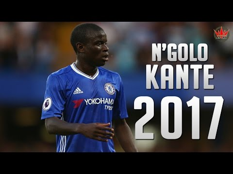 N'Golo Kante ● The Beast ● Crazy Defensive Skills 2016/2017
