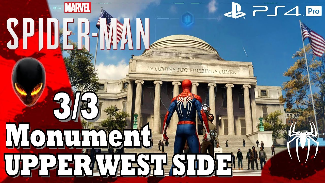 Spider Man Monuments 33 Upper West Side Youtube