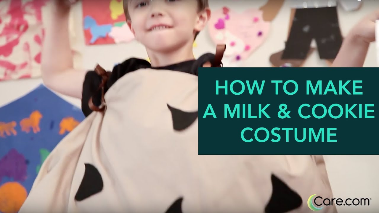 1963c85fddc How to Make a Milk and Cookie Costume - Easy DIY Halloween | Care.com