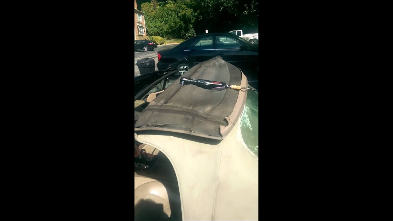 hight resolution of 1997 bmw z3 convertible top replacement part 1