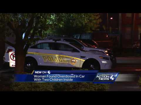 Drugs, children found in SUV outside Pittsburgh police station