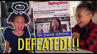 Nandi Bushell Defeats Dave Grohl - The Collaborations Begins