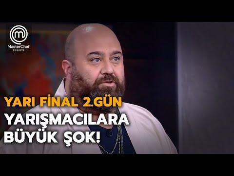 Şeflerden Yarışmacılara Büyük şok!  | Yarı Final | MasterChef Türkiye