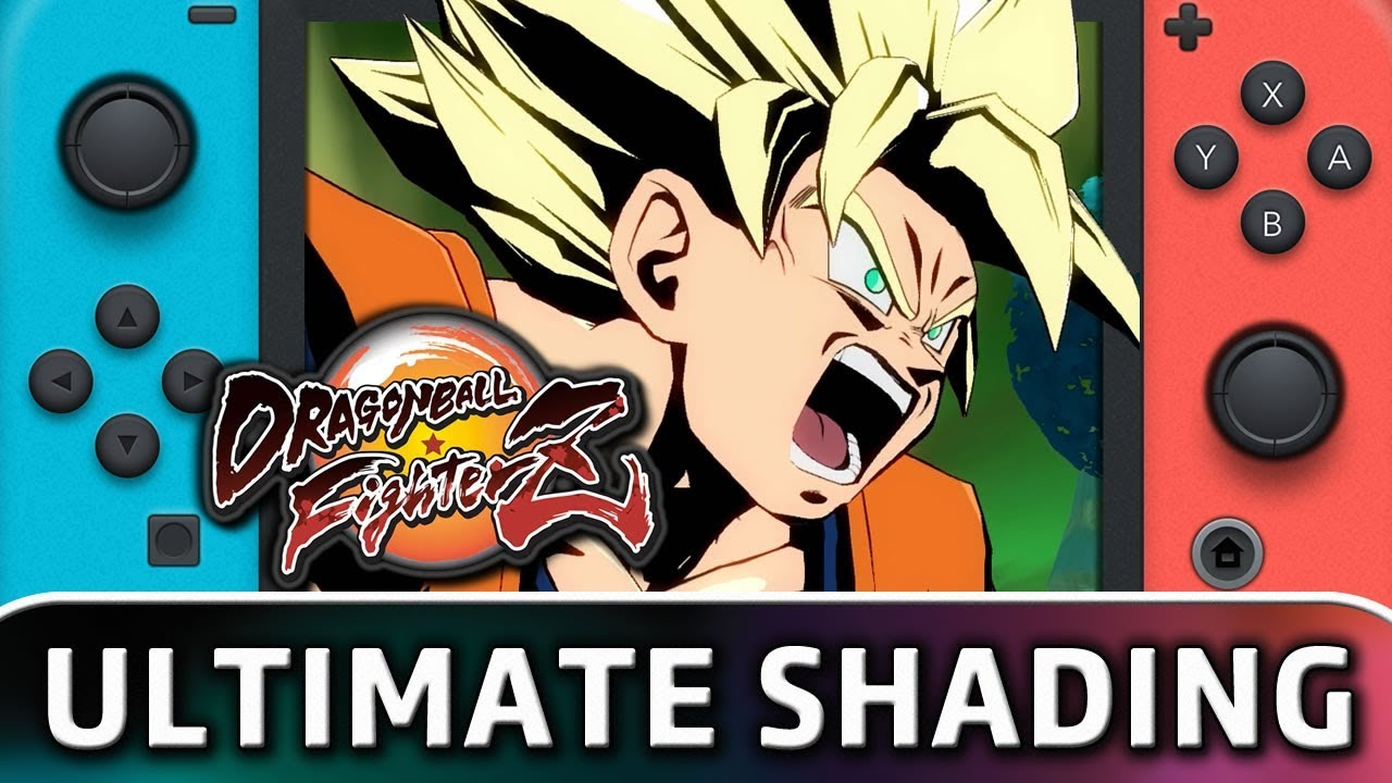 Dragon Ball FighterZ SHADING MOD on Nintendo Switch!! help to