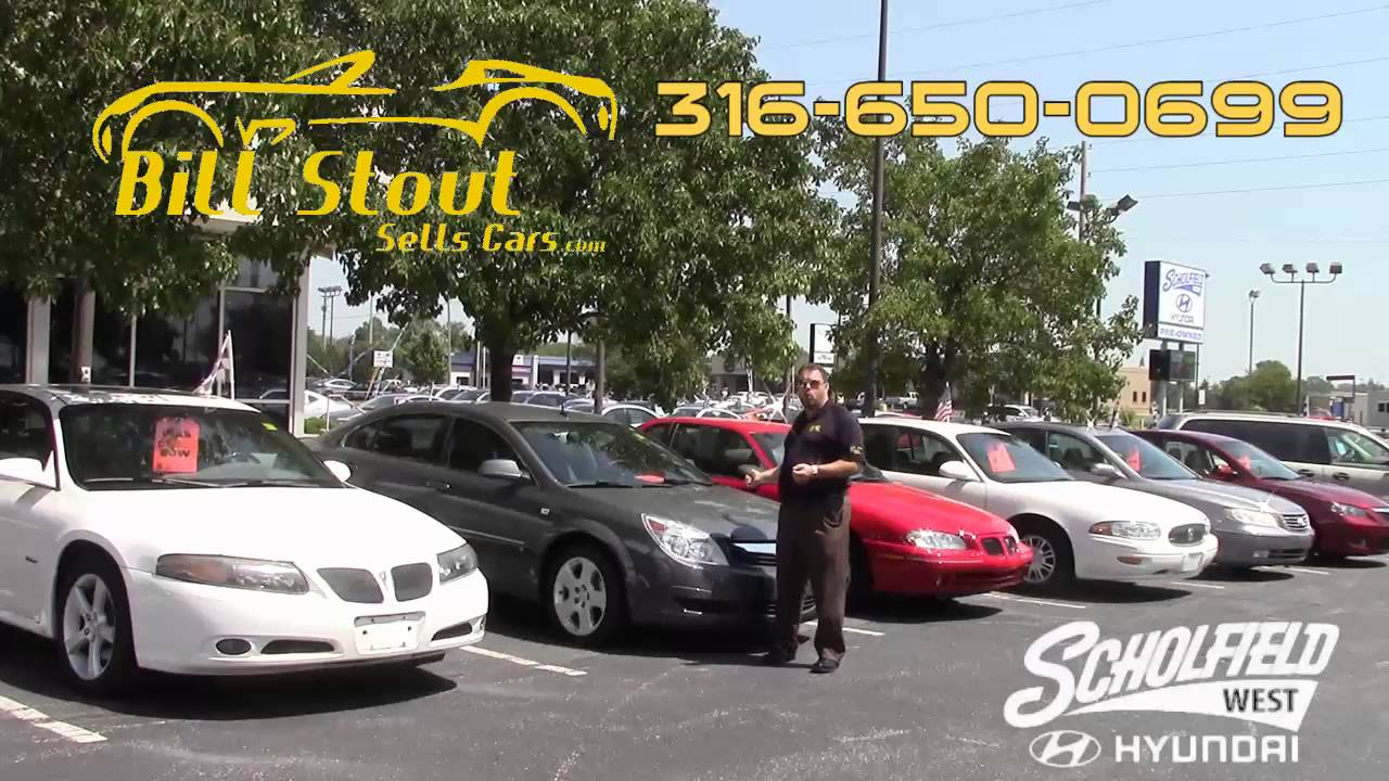 Hot Car Deals Bill Stout At Scholfield Hyundai West In Wichita