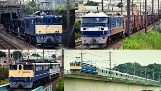 武蔵野線貨物列車 ホキ廃車回送 東急2020系甲種ほか ネタな列車が多数 2020年9月
