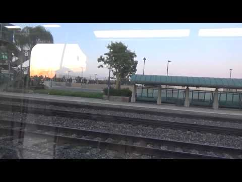 metrolink ride from Anaheim station to los Angeles union station