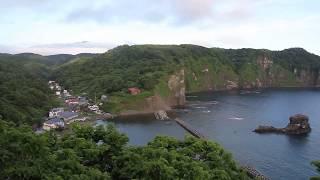 黄金岬からの景色 宝島 マッカ岬 ビヤノ岬 ゴメ島 米津漁港