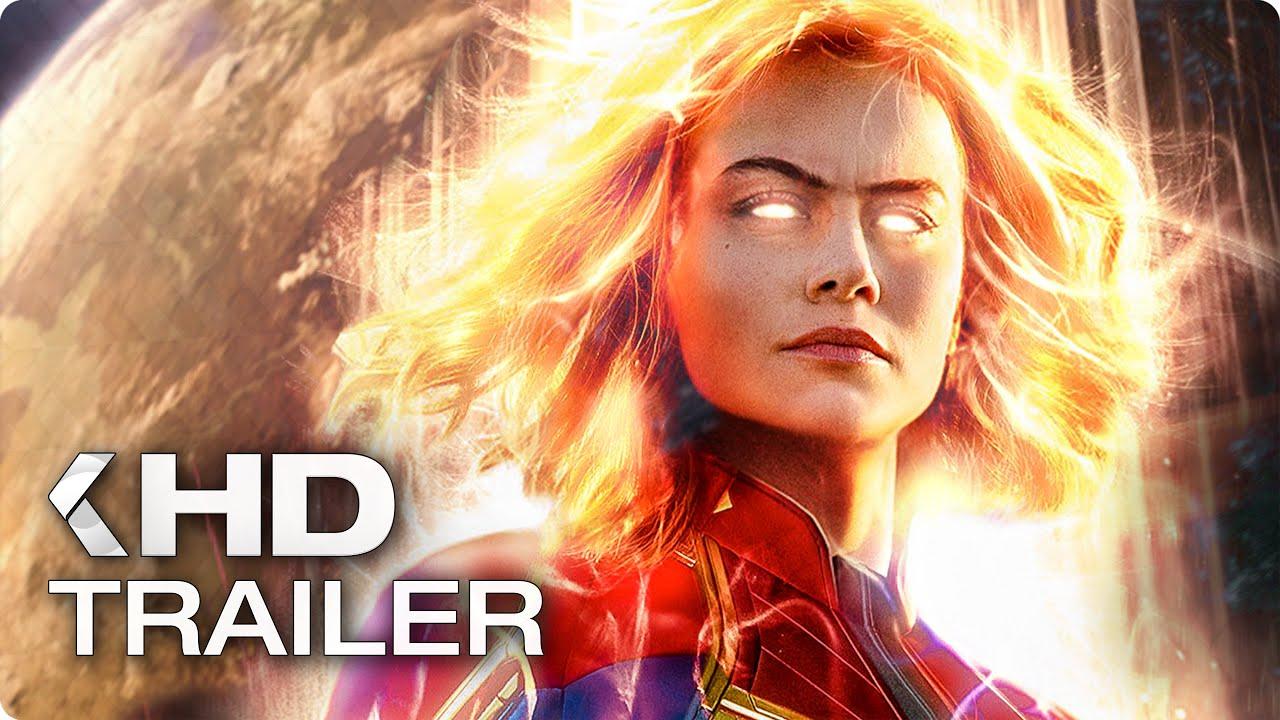 captain marvel trailer 2 german deutsch (2019) - youtube