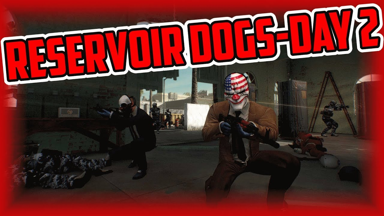 Payday 2: Reservoir Dogs Heist - Day 2 (Solo One Down Difficulty)