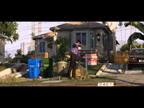 GTA 5 Official Trailer, Released from Rockstar Games! HD!