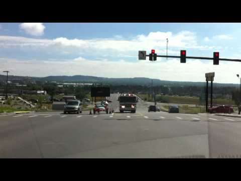 Colorado Springs Engine 9 Busting An Intersection